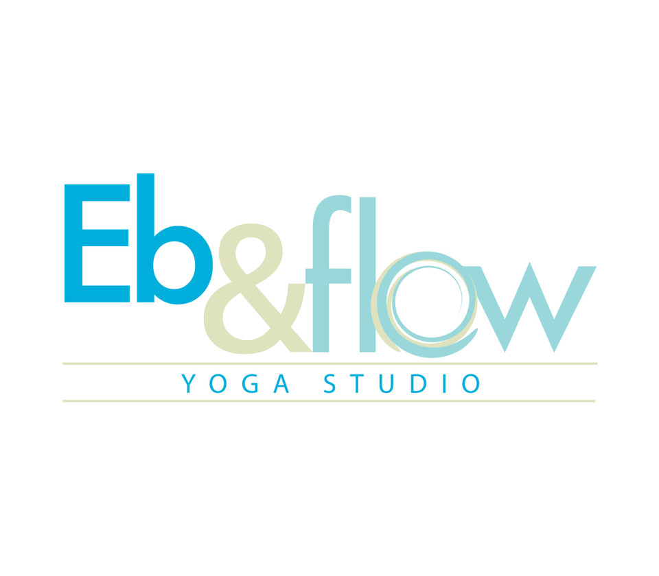 Eb & Flow Yoga Studio logo