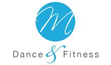 M Dance & Fitness logo