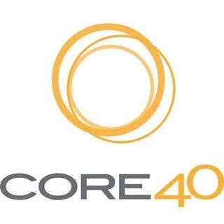 CORE40 logo