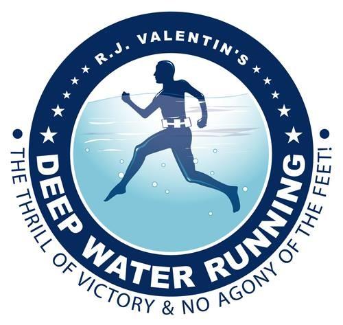 RJ Valentin's Deep Water Running logo