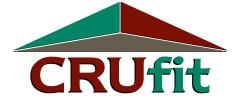 CRUfit logo