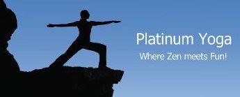 Platinum Yoga logo