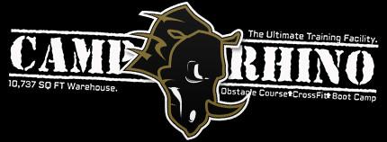 Camp Rhino logo