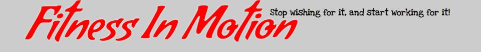 Fitness in Motion logo