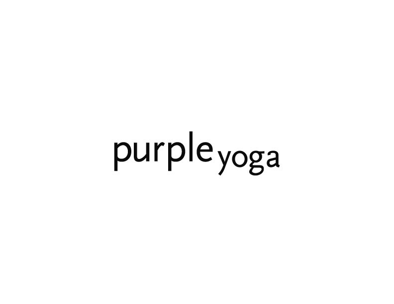 Purple Yoga logo