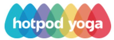 Hotpod Yoga logo