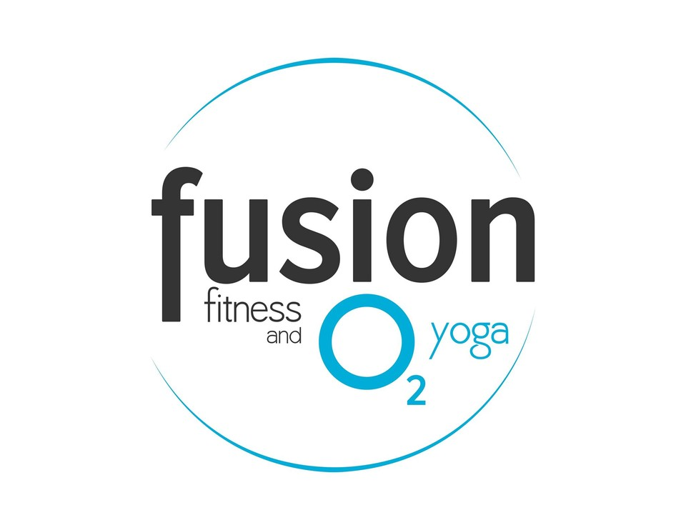 Fusion Fitness and O2 Yoga logo