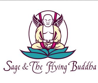 Sage and The Flying Buddha logo