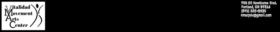 Vitalidad Movement Arts Center logo