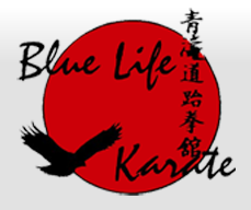 Blue Life Karate and Fitness Kickboxing Centers logo