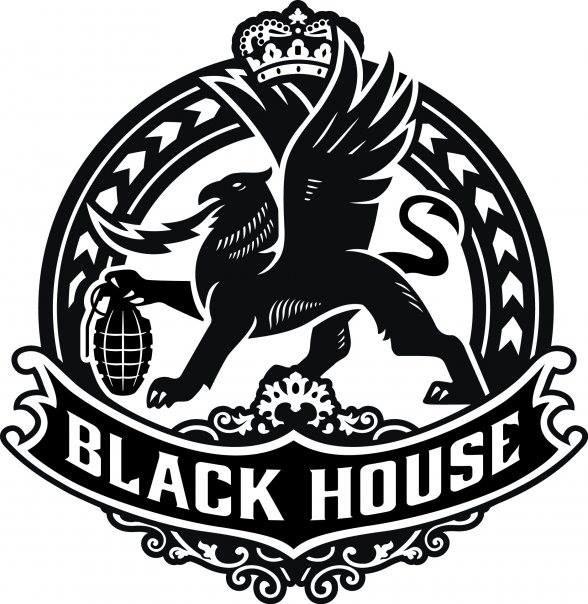 Black House MMA logo