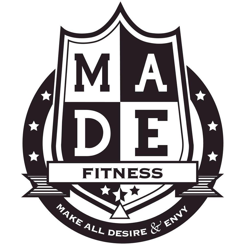 M.A.D.E. Fitness logo