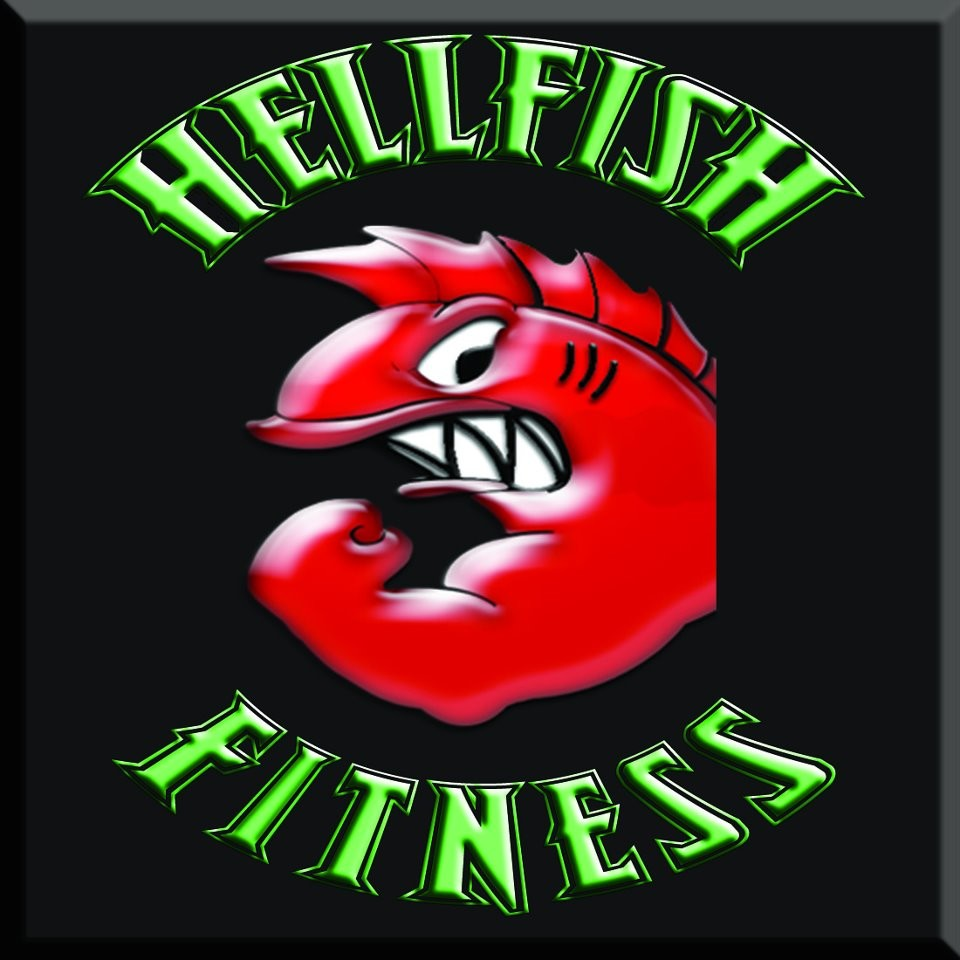 Hellfish Fitness logo