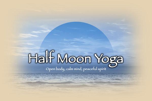 Half Moon Yoga logo