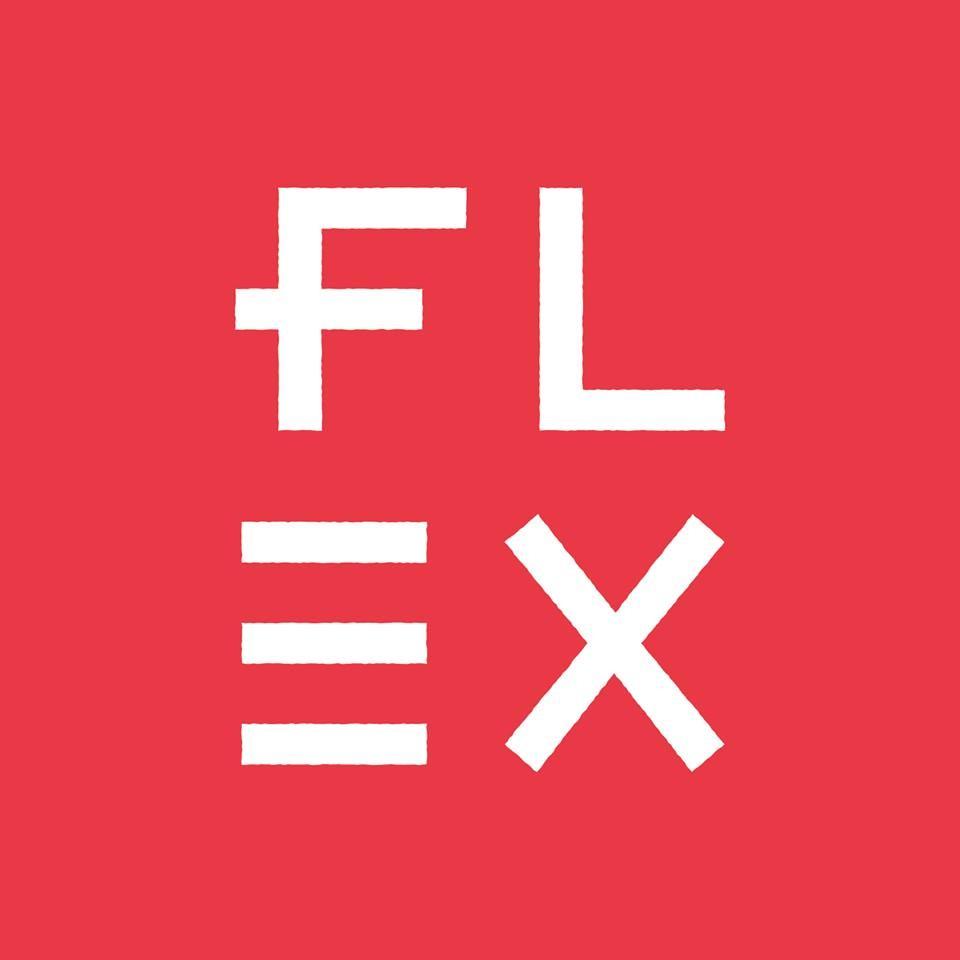 Flex Yoga + Barre Studios logo
