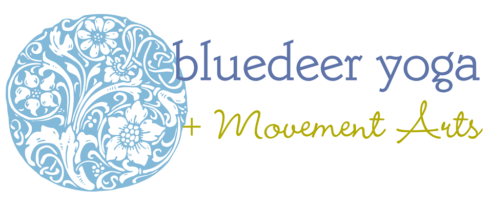 bluedeer yoga + movement arts logo
