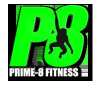 Prime-8 Fitness logo