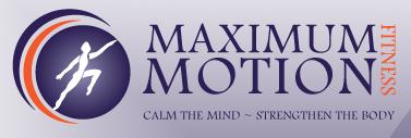 Maximum Motion Fitness logo
