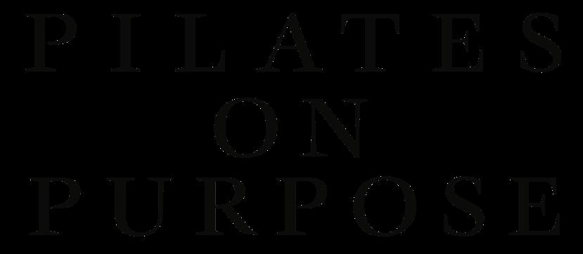 Pilates on Purpose logo