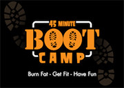 45 Minute Boot Camp logo