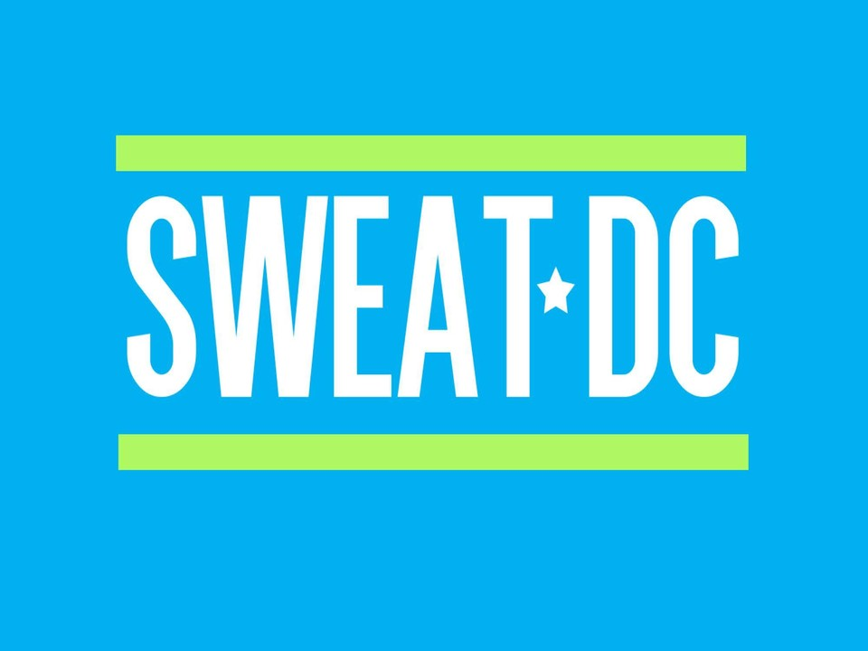 SWEAT DC logo