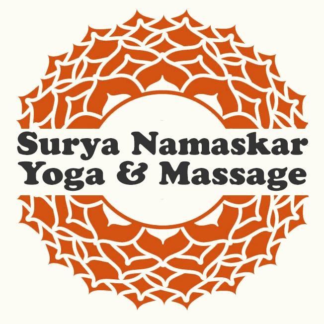 Surya Namaskar Yoga logo