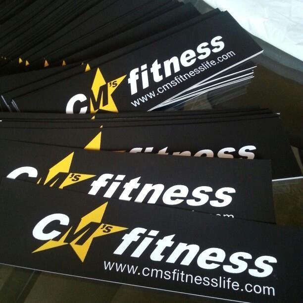 CM's Fitness logo