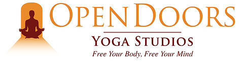 Open Doors Yoga logo