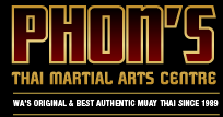 Phon's Thai Martial Arts Centre logo
