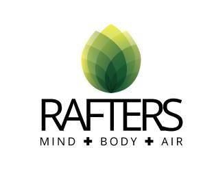 Rafters Mind Body Air logo