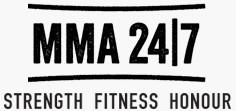 MMA 24/7 logo