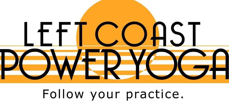 Left Coast Power Yoga logo