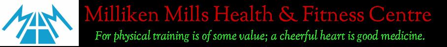 Milliken Mills Health & Fitness logo