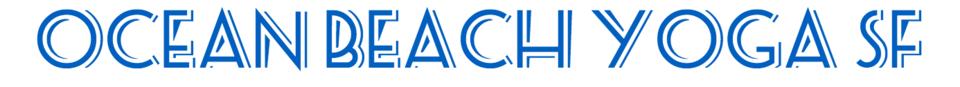 Ocean Beach Yoga SF logo