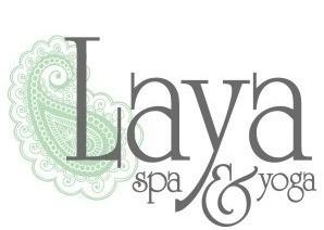 Laya Spa and Yoga logo