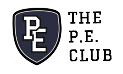 The P.E. Club logo