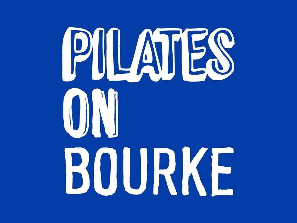 Pilates on Bourke logo