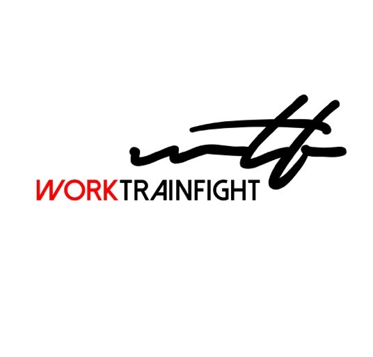 WORK TRAIN FIGHT logo
