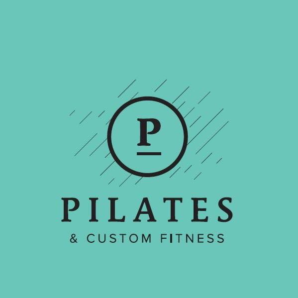 Pilates & Custom Fitness logo