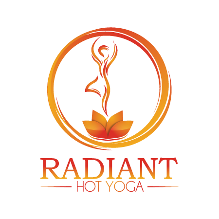 Radiant Hot Yoga logo
