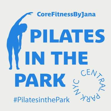 Pilates in the Park logo