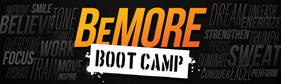 BeMORE Boot Camp logo