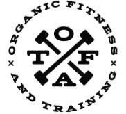 Organic Fitness & Training logo