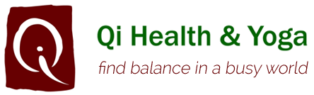 Qi Health and Yoga logo