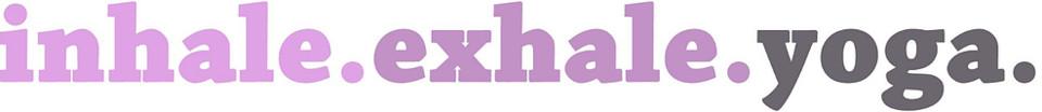 inhale.exhale.yoga. logo
