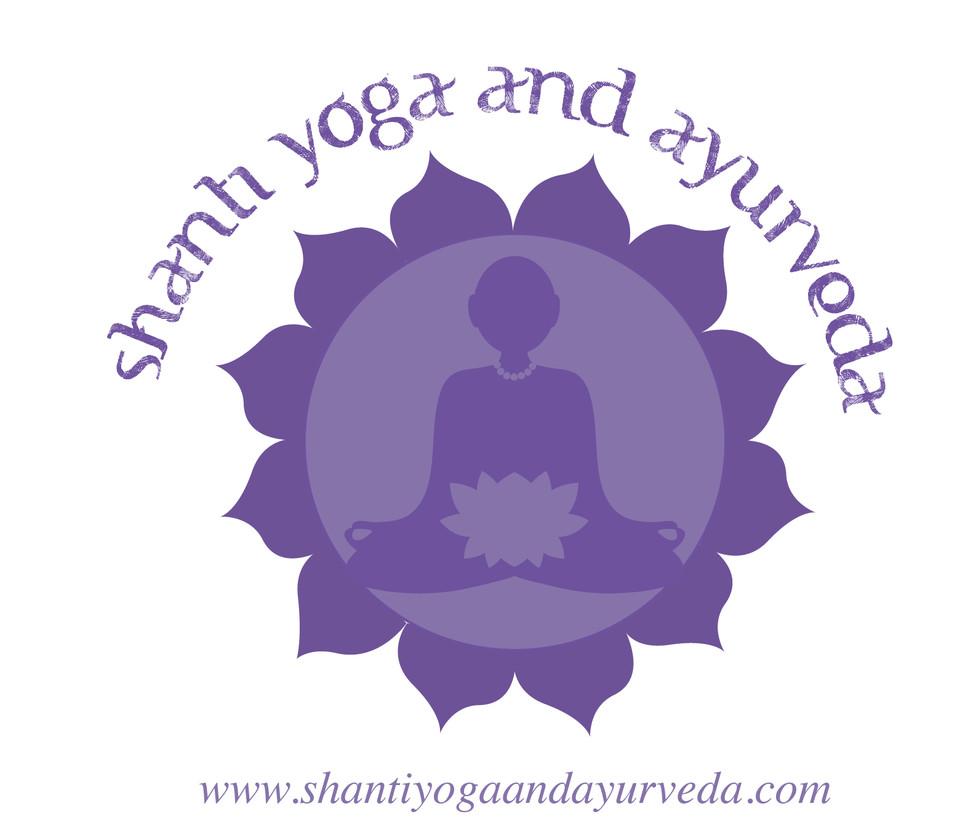 Shanti Yoga and Ayurveda logo
