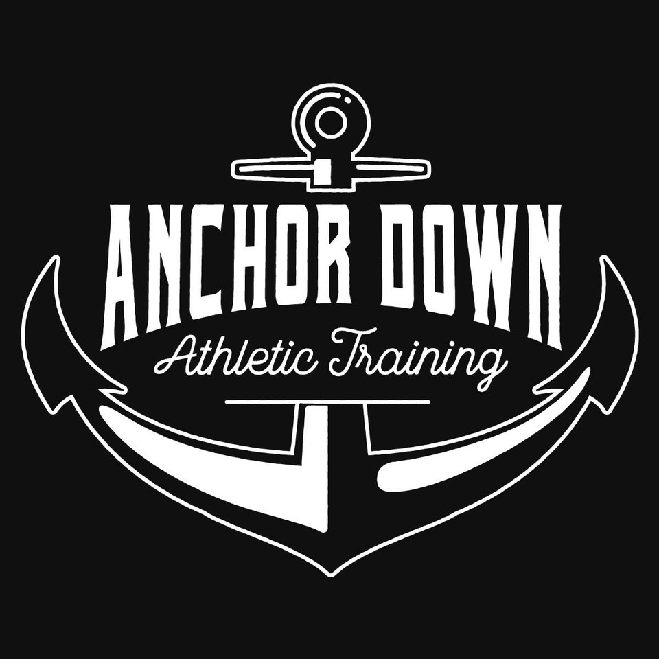 Anchor Down Athletic Training logo