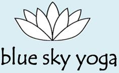 Blue Sky Yoga logo