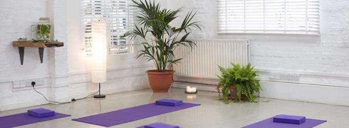 Fold. Yoga