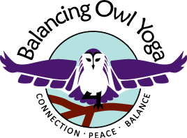 Balancing Owl Yoga logo